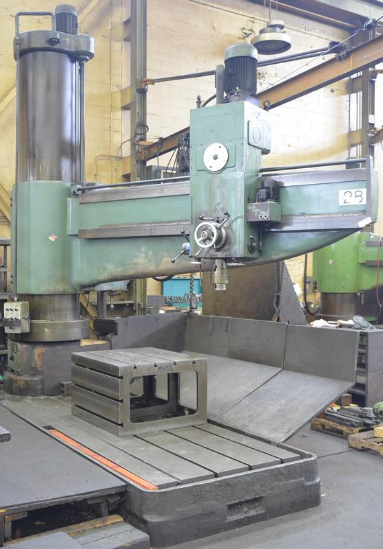 UCIMU 10' radial arm drill